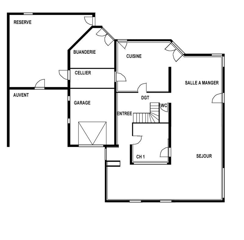 Le monde de bruno bichara ma maison sous blender 1 for Plans pour ma maison